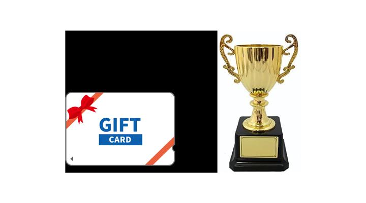 Winning trophies, prizes, etc.