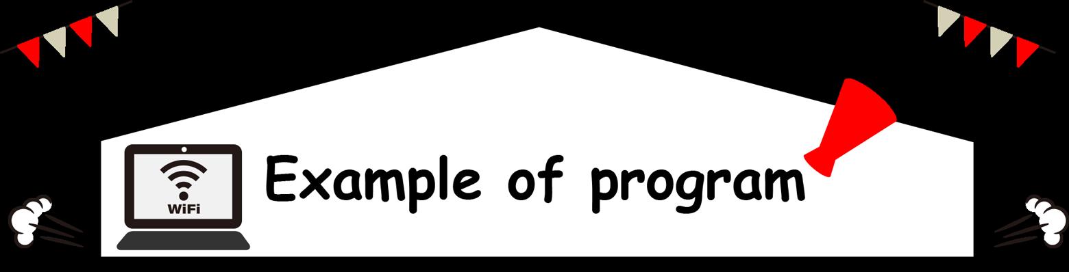 Example of program
