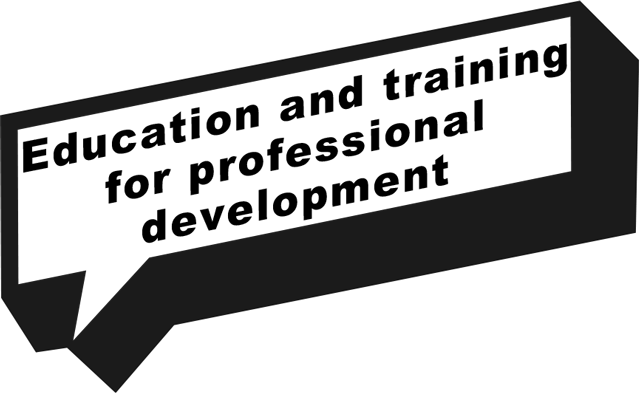 Education and training for professional development
