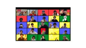 オンライン運動会のYouTube配信